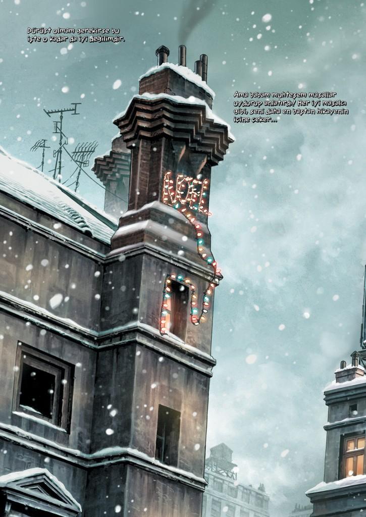 Batman Noel İç Sayfalar (2)